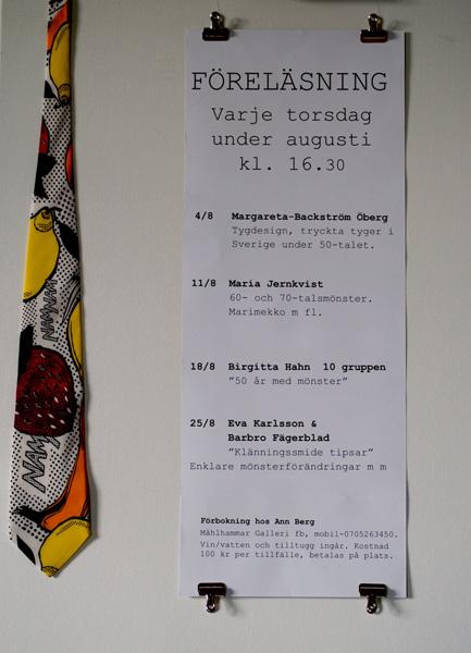 Föreläsningar av Eva Karlsson