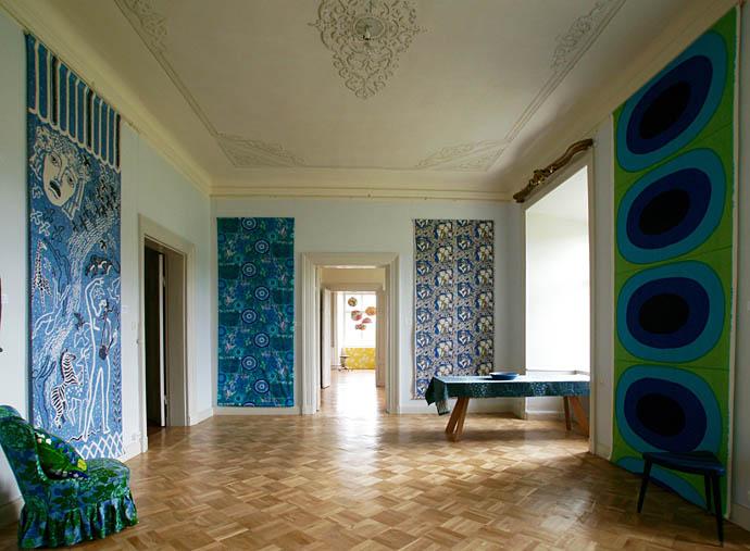 Älskade mönster 2016 på Målhammar galleri